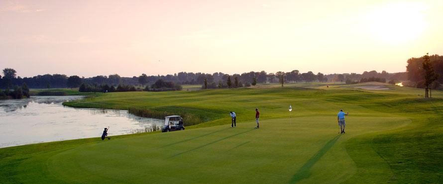 Golfanlage Golf Hotel Schloss Lüdersburg Lakes Curse
